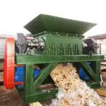 Шредер универсальный двухвальный измельчитель отходов ТБО, ТКО, дерева.