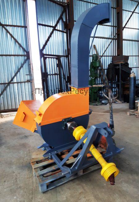 Щеподробилка прицепная привод от ВОМ трактора